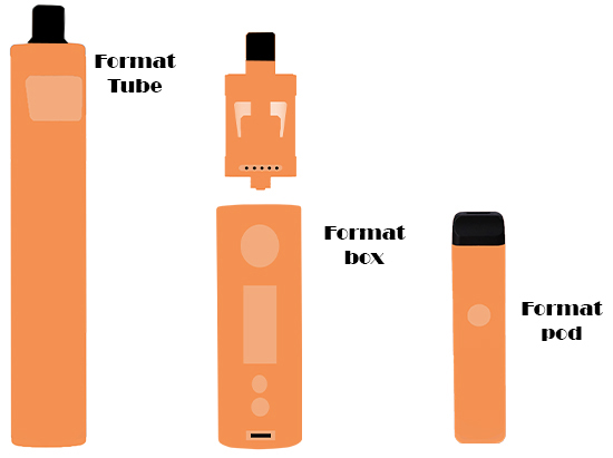 tube pod BOX CIGARETTES